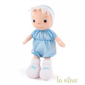 Boneco bebe macio La nina