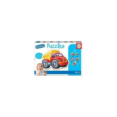 Baby Puzzle Veículos 24+ - Educa