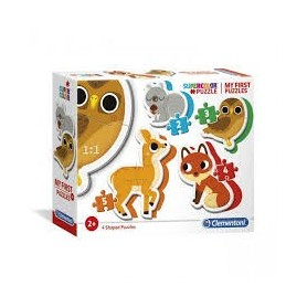 My First Puzzles: Animais do Bosque - Clementoni