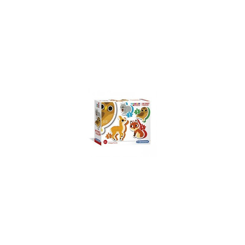 My First Puzzles: Animais do Bosque - Clementoni