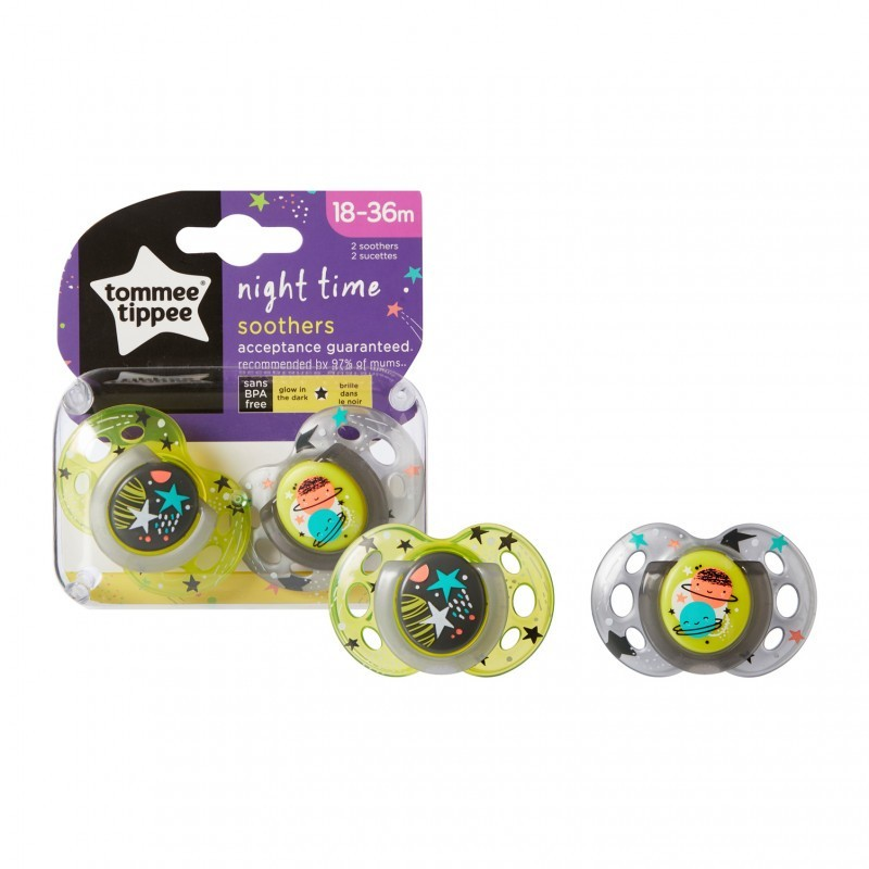 Conjunto 2 Chuchas 18-36M Night Time - Tommee Tippee
