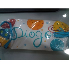 Placa Decorada com Nome - Diogo