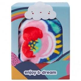 Manta Polar Rosa Enjoy & Dream - Tuc Tuc