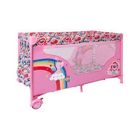 Cama de Viagem Mimi and Go Rosa Enjoy & Dream - Tuc Tuc