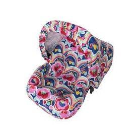 Forra de verão com capota para Cadeira Auto 0+ Rosa Enjoy & Dream - Tuc Tuc