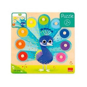Puzzle Madeira Pavao Real 2+ - Goula