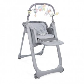 Cadeira de Papa Polly Magic Relax Graphite - Chicco