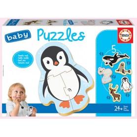 Baby Puzzle Animais Polares 24+ - Educa