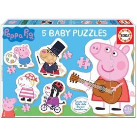 Baby Puzzle Peppa Pig 2 24+ - Educa