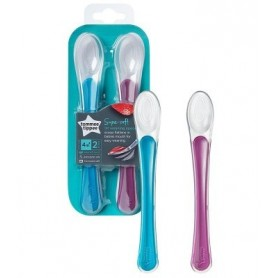 Conjunto de 2 Colheres Silicone - Tommee Tippee