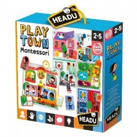 Puzzle Play Town Montessori - Headu