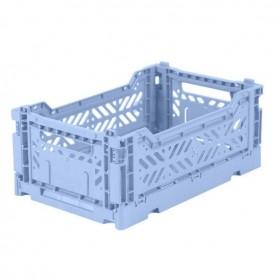 Mini Box Dobrável Azul Pastel - Lillemor