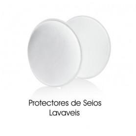 Protectores de seio laváveis: 4 unidades - Medela