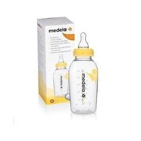 Biberão com Tetina Calma com frasco para leite materno 250 ml - Medela